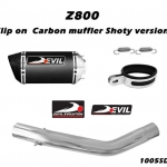 ท่อ DEVIL EVOLUTION รุ่น 1005SD4C SLIP-ON FOR KAWASAKI Z800