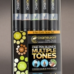 ชุดปากกาสี Chameleon Marker - Set 5 Pens - Earth Tone