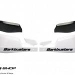 แฮนด์การ์ด BarkBuster VPS สีขาว