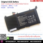 Original Battery B31N1336 / 48Wh / 11.4V For ASUS VivoBook S551L R553L R553LF K551LN