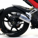 Arrow titanuim slip on Racetech สำหรับ Ducati Multistrada 1200
