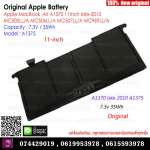 Original Battery A1375 7.3V / 35Wh For Apple MacBookAir A1370 11Inch late-2010 MC505LL/A MC506LL/A MC507LL/A MC969LL/A