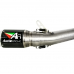 ท่อ AUSTIN RACING GP1R ปากเงิน FOR KAWASAKI Z800