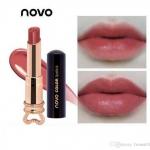 (8สี/NEW/ของแท้/พร้อมส่ง) โนโว novo color lipstick essence ลิปสติก สไตล์เกาหลี