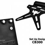 ท้ายสั้นSet up Design พับได้ CB300