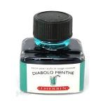 หมึก D Ink 30ml. J.Herbin - สีฟ้ามรกต Diabolo Menthe 33