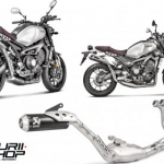 ท่อ Akrapovic Fullsystem Black Limited ออกบน for Yamaha XSR900
