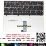 Original US Keyboard for Lenovo Z370 Z470 / B470 B475E B490 / G470 G475 / V470 V480C Grey Frame AEKL6U0030 25013004 MP-10A13US-6864