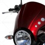 ชิวหน้า ERMAX NOSE FAIRING สีแดง FOR YAMAHA XSR700