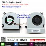 Fan CPU For ASUS A45V A45VD K45VD A85V K45VM