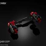 กันล้มใต้ท่อไอเสียBiker สำหรับ Honda Forza 300