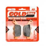 ผ้าเบรกหลัง GOLD FREN FOR CTX700