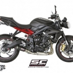 ท่อ SC PROJECT CR-T Carbon for Triumph Street Triple 675