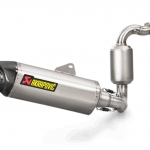 ท่อ AKRAPOVIC FULL STAINLESS CATALYTIC FOR BMW G310R