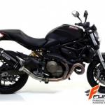 ท่อ Arrow Slip Dark-Carbon for Ducati Monster 821