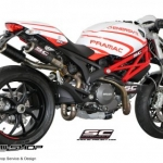 ท่อ SC PROJECT CR-T Carbon for Ducati Monster795-796