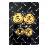 อุดเฟรม FAKIE สีทอง FOR SUZUKI GSXS750