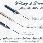 หัวปากกา Writing and Drawing Set - Flexible Nibs
