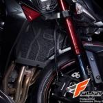 การ์ดหม้อน้ำ Leon BLACK สำหรับ Kawasaki Z1000
