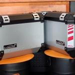 กล่องข้าง LOBOO GEN3 37L สีเงิน 2ใบ พร้อมชุดยึดข้าง FOR HONDA CB500X