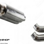 PR2 GP2 Hypermotard821 Slipon สแตนเลส