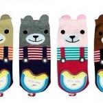 LSA-0005 ถุงเท้าน้องหมีมีหู