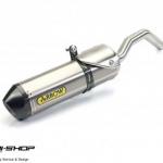 ท่อ ARROW SLIP-ON FOR TRIUMPH TIGER800