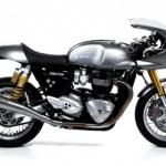 ท่อ Arrow Pro-Racing Silencers carbon for Triumph Thruxton r1200
