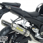 ท่อ Arrow Slip-on Titanium for Suzuki GSX-R1000