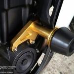 กันล้ม RSV สีทอง FOR HONDA CBR500R/CB500F/CB500X
