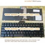 Dell Keyboard คีย์บอร์ด Inspiron 3421 3437 5421 / 2421 2158 2528 / 5437 5435 5523 / N3421 N5421 N5437 N5435 N5523 ภาษาไทย อังกฤษ