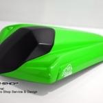 ครอบเบาะ K2 Factory(สีเขียว) สำหรับ Ninja250-300 Z250