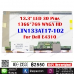 "13.3"" LED 30 Pins 1366*768 HD # LTN133AT17-102 For Dell E4310"