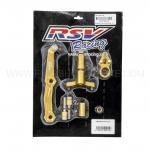 ขาจับกันสะบัด RSV z800 สีทอง