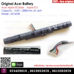 Original Battery AS16A5K 14.8V 2800mAh For Acer E15 E5-575G E5-774G AS16A7K AS16A8K