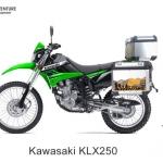 ปี๊บบน พร้อมแร็คและเพลท K2 PRO 28L,40L FOR KAWASAKI KLX250, D-Tracker250