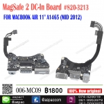 "MagSafe2 DC-In Board #820-3213 FOR MACBOOK AIR 11"" A1465 (MID 2012)"