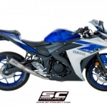 ท่อ SC PROJECT S1 Silencer Fullsystem for Yamaha R3 - MT-03