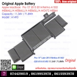 "Original Battery A1493 11.34V / 71.8Wh For Apple MacBookAirPro 13"" 2013 2014 Retina A1502 ME864LL/A ME866LL/A ME865LL/A MGX72 ME864"
