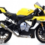 Arrow Full Competition Titanium SBK R1 2015