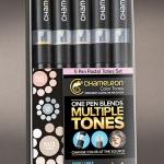 ชุดปากกาสี Chameleon Set 5 Pens - Pastel Tone
