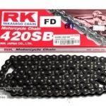 โซ่ RK 420 สีดำ