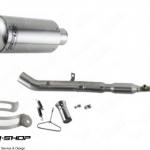 PR2 MOTO GP Z125 คอบอม FULL SYSTEM STAINLESS