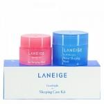 Laneige Good night Sleeping Care Kit เซ็ทคู่บำรุงผิวหน้าและริมฝีปากยามค่ำคืน สัมผัสความนุ่ม ชุ่มชื่น ได้ในทุกเช้า มาส์กตัวเด็ด ตัวดังจากลาเนจ