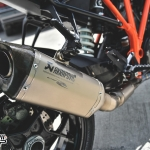 ท่อ AKRAPOVIC TITANIUM FOR KTM SUPERDUKE 1290