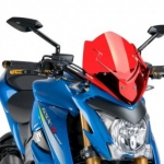 ชิวหน้า PUIG RED FOR SUZUKI GSX-S1000