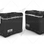 กล่องข้าง LOBOO TIBET 34L สีดำ 2ใบ พร้อมชุดยึดข้าง FOR HONDA CB500X