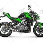 ท่อ AKRAPOVIC SLIP ON CABON FOR KAWASAKI Z900