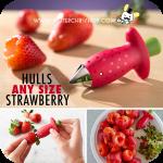 Strawberry Huller ที่ดึงขั้วสตรอเบอร์รี่
