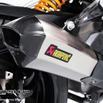 ท่อ Akrapovic Slip on H2 Titanium Version
